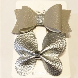 New listing!  Butterfly hair clip
